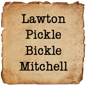 The Lawton/Pickle/Bickle/Mitchell Page