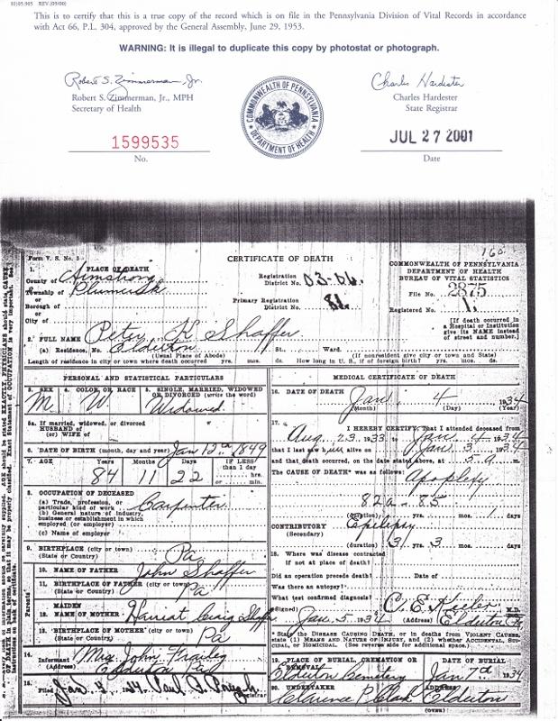 Pa Death Certificate Gallery Creative Certificate Design Inspiration