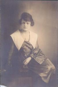 Margaret Frith McLean circa 1917