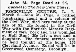 John NYT 3 Mar 1931