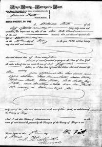 Frances Frith 1854 probate 1 - Copy