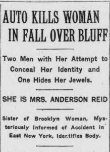 The headline from The New York Times 14 Nov 1912, p1, c5.
